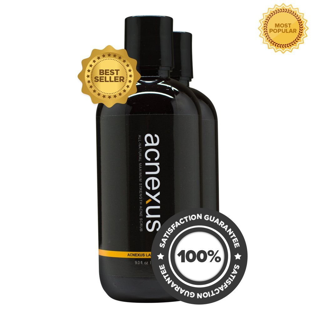 Acnexus (2 Pack) - Acne Face Wash - Best Acne Face Wash of 2014 - Discover the Best Acne Treatment of 2014