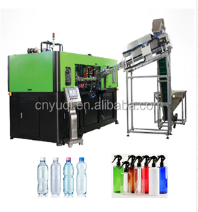PET bottles blow moulding line/ water bottle stretch Line/4 calvities small plastic bottle making machine