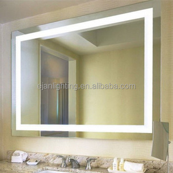 Ip44 Led Light Mirror With Touch Sensor Switch