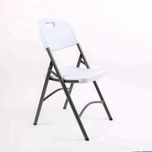 wholesale price blow mold rental plastic banquet folding chair