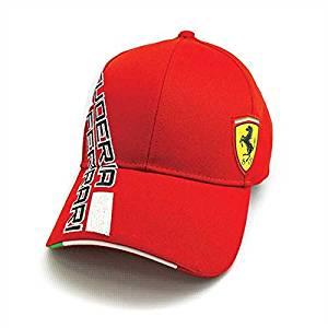 1bd7157bb64b5 Get Quotations · Ferrari Red SF Shield Hat