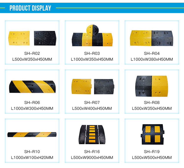 50cm Rubber Speed Hump Speed Bump