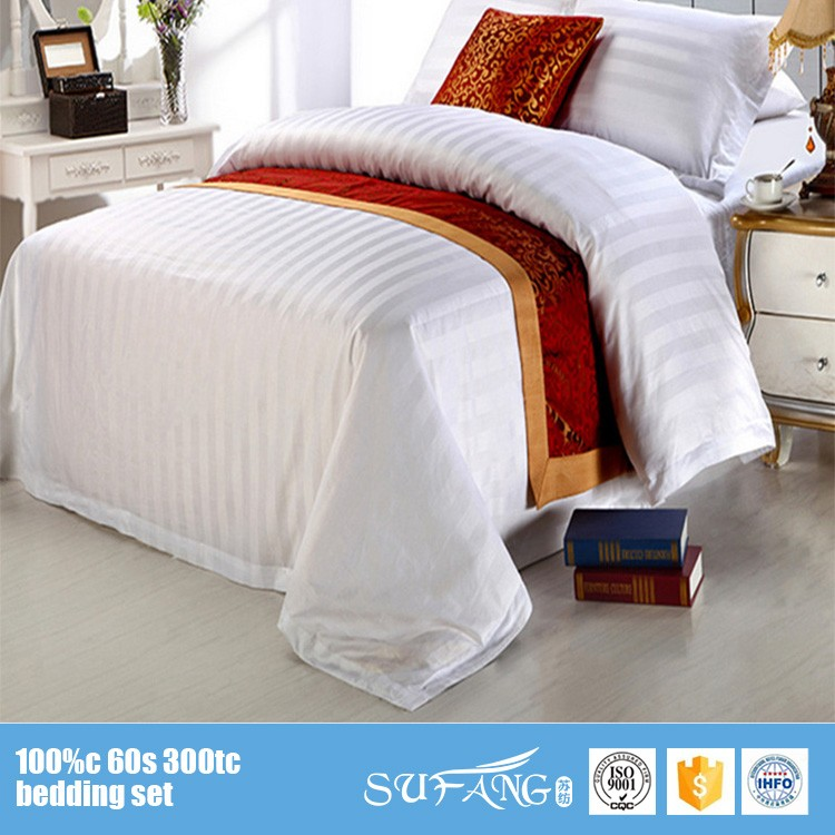 Hilton Hotel Collection Bedding: 100% Cotton Hotel Motel Bedding Sets 5 Star
