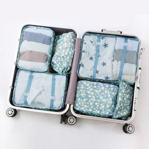 Portable Luggage Organizer Toiletry Cosmetic Travel Makeup Bag Set