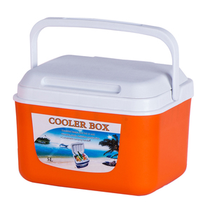 Buy 5l ice box Factory Cheap beer cooler chest Food beverage cooler portable mini plastic hand carry cooler box