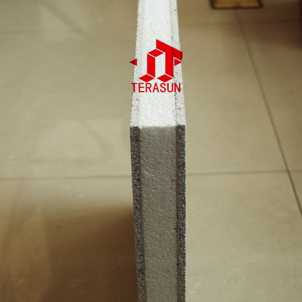 Foam Sandwich Panel Plywood View Fiber Cement Eps Sandwich Panel Treasun Product