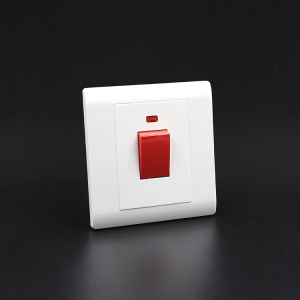 super quality white kitchen cooker use electric 45A wall switch