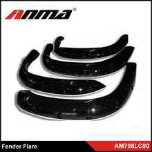 Manufacturer and wholesale universal fender flares/wheel arch fender flares