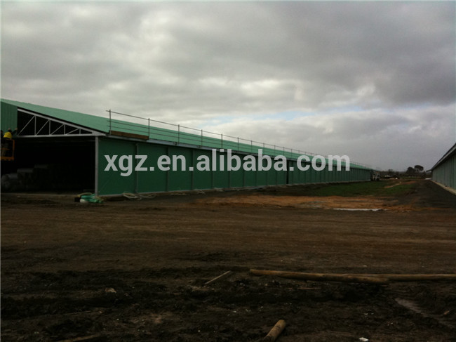 Modern prefab cheap broiler poultry farm design