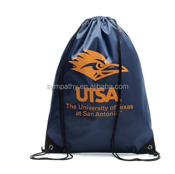 cheap promotional custom drawstring bags/tactical backpack