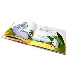 A5 matte art paper custom children english story picture book printing