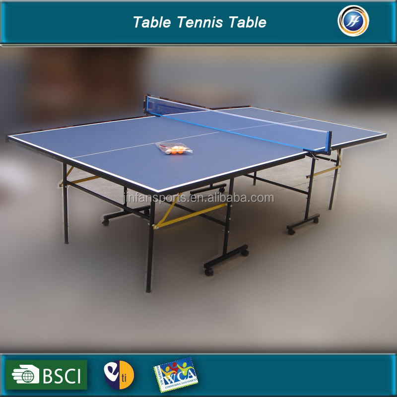 High quality foldable table tennis table/pingpong table for sale