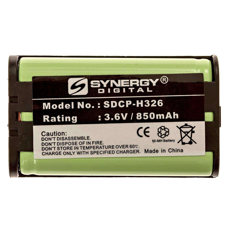 Panasonic KX-TG5471 Cordless Phone Battery Ni-MH, 3.6 Volt, 850 mAh, Ultra Hi-Capacity Battery - Replacement Battery for PANASONIC HHR-P104, Type 29, Sony MDR-RR800/900 Series Cordless Phone Batteries