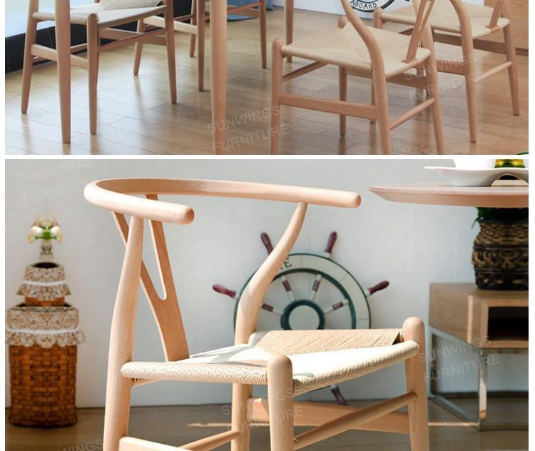 hecho en china diseo moderno mejor precio saln de madera y mimbre silla de comedor