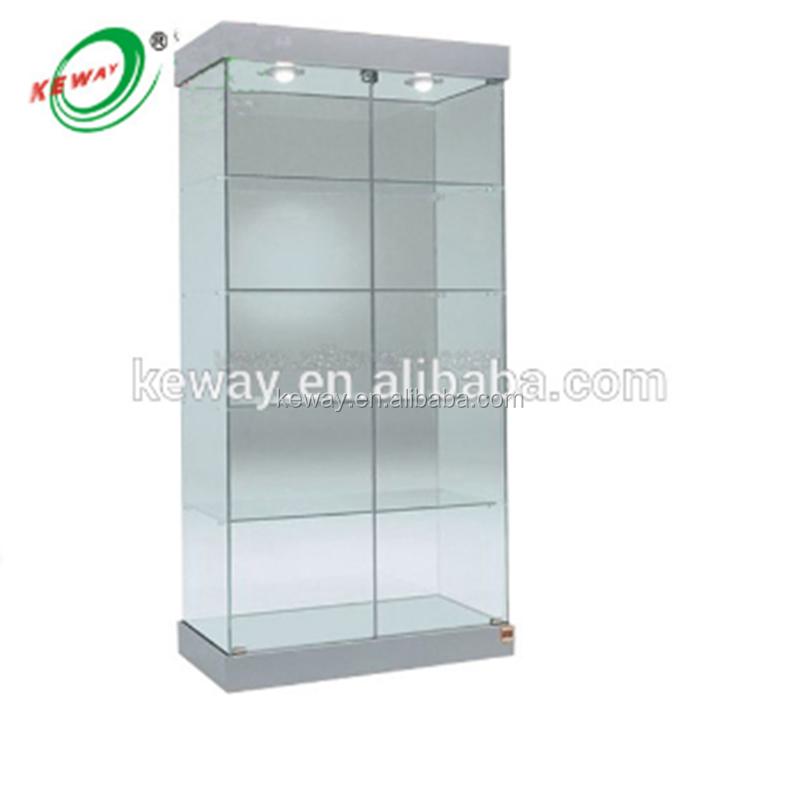 ברצינות ארון דלת זכוכית/זכוכית ארונות תצוגה-מדפי תצוגה-מספר זיהוי מוצר HW-39
