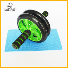 Small plastic ab roller exercise wheel