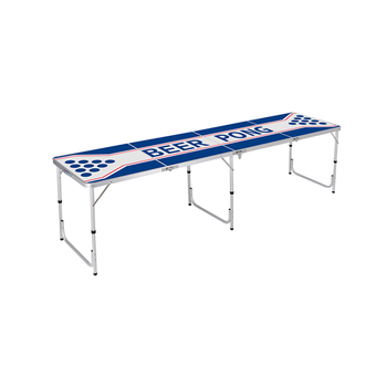Cheap Price BBQ Party Light Weight 8ft Aluminum Folding Beer Pong Table