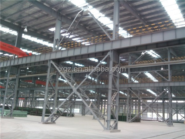anti-seismic ISO & CE certificated structural steel design