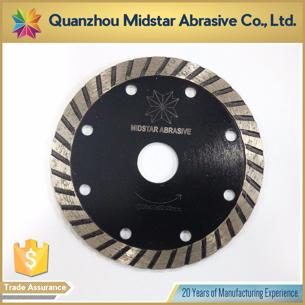 hot sale small diamond circular turbo saw blade