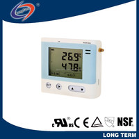 WiFi Wireless Four Channel Temperature & Humidity Data Logging Sensor/Wifi Thermostat RCW-400A