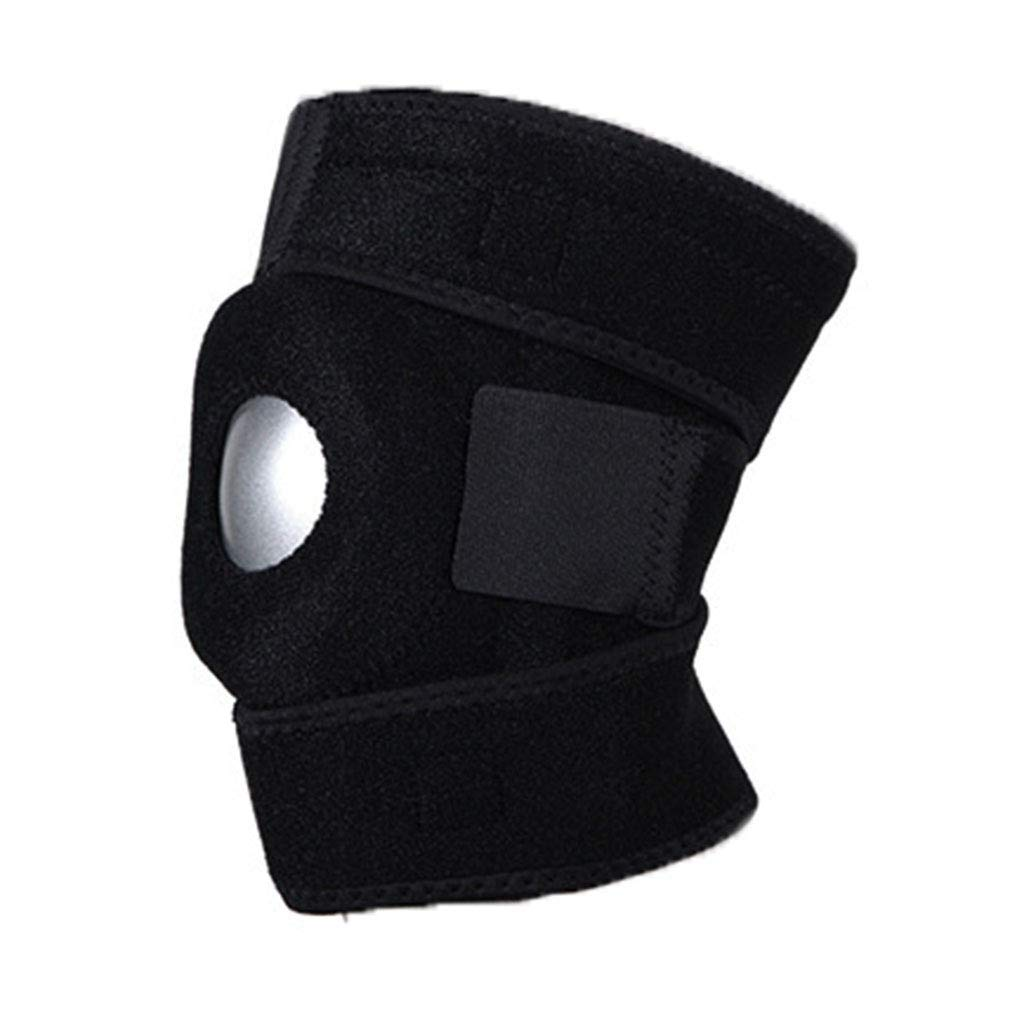RenShiMinShop Knee Pads Kneepads Sports Knee Pads Fitness Warm Knee Pads high Elastic Anti-Slip Knee Pads Non-Slip Breathable Knee Pads Outdoor Protective Gear (Color : Black, Size : L)