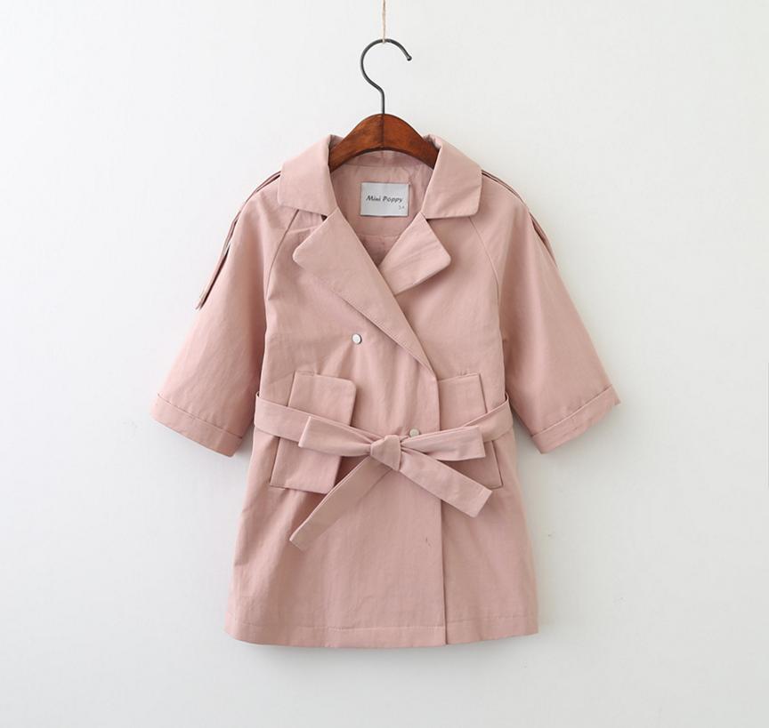 2017 New Designs Baby Long Coats Girls Wind Coat Kids Lovely ...