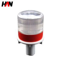 solar waterproof barrier block cone led light