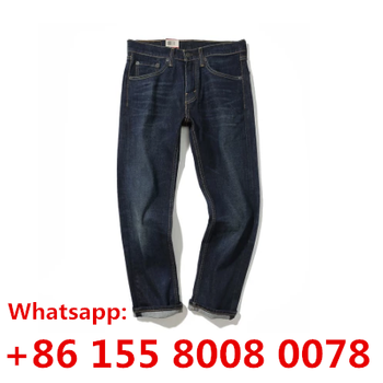 True brand china Factory Wholesale men Jeans Distressed Denim Pants