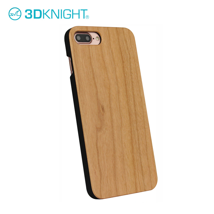 Wholesale Luxury Blank PC Cherry Wooden Cell Phone Case for iPhone 7