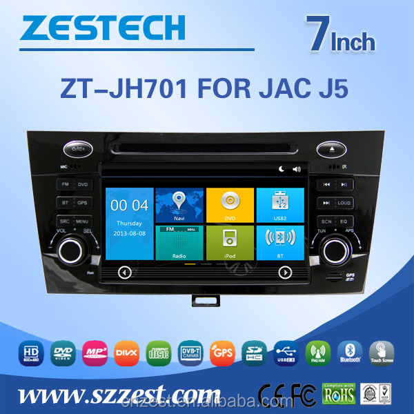 MTK800 MHz RAM 256 M Car radio gps for JAC J5