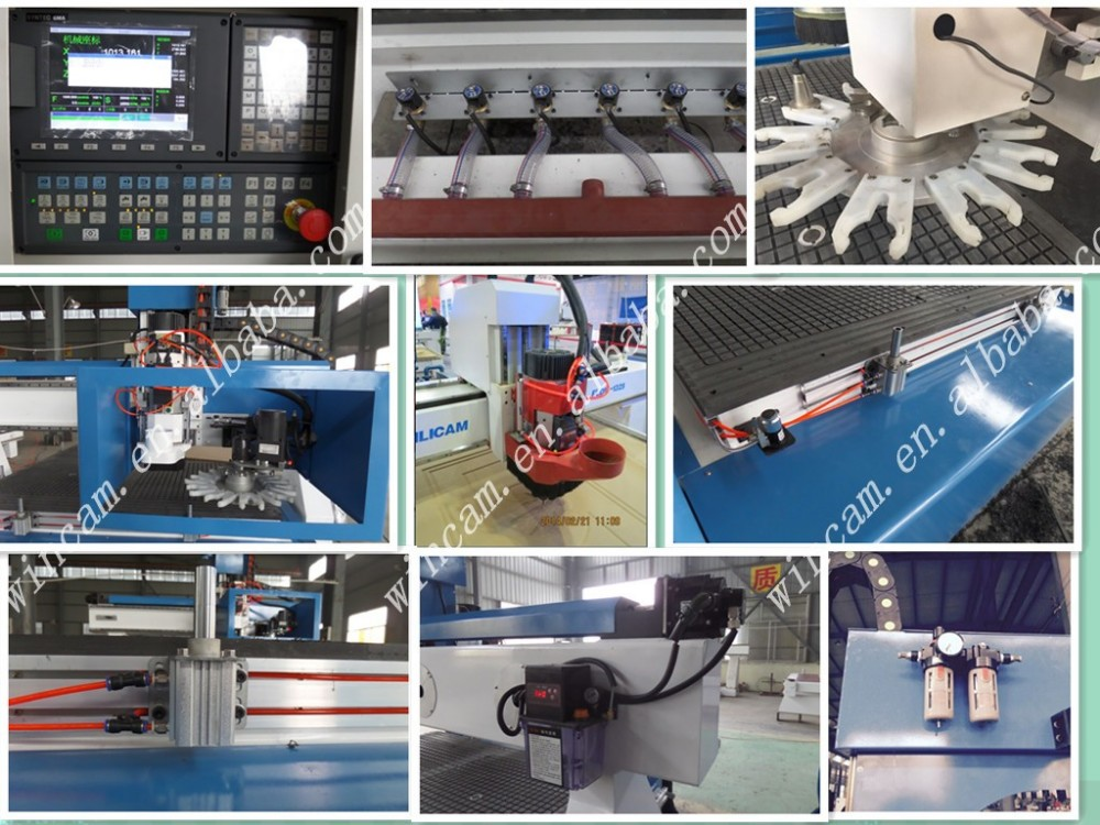 Philicam FLDM1325 ATC cnc woodworking machine with diskauto tool changer spindle for furniture in china