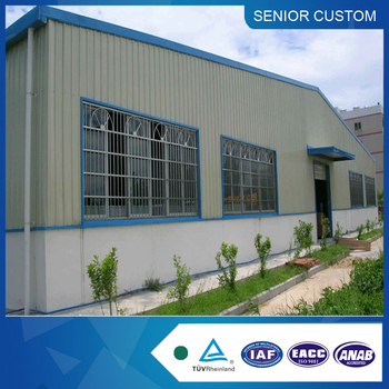 light construction design steel structure warehouse