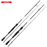 Saltwater Fishing 1.8m Carbon GraphiteTravel Spinning Lure Rod