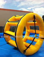 Water Parks, Water Wheel Inflatable, Water Roller