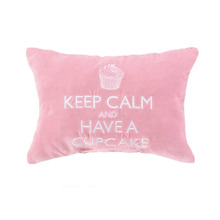 jacquard pink cover cotton cushion student chair