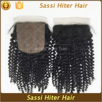 Factory Direct Price Cheap Human 4 Way Part Silk Base Closure