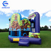 Inflatable Scooby Doo jumping castle combo, kids bouncy castle combo slide for sale