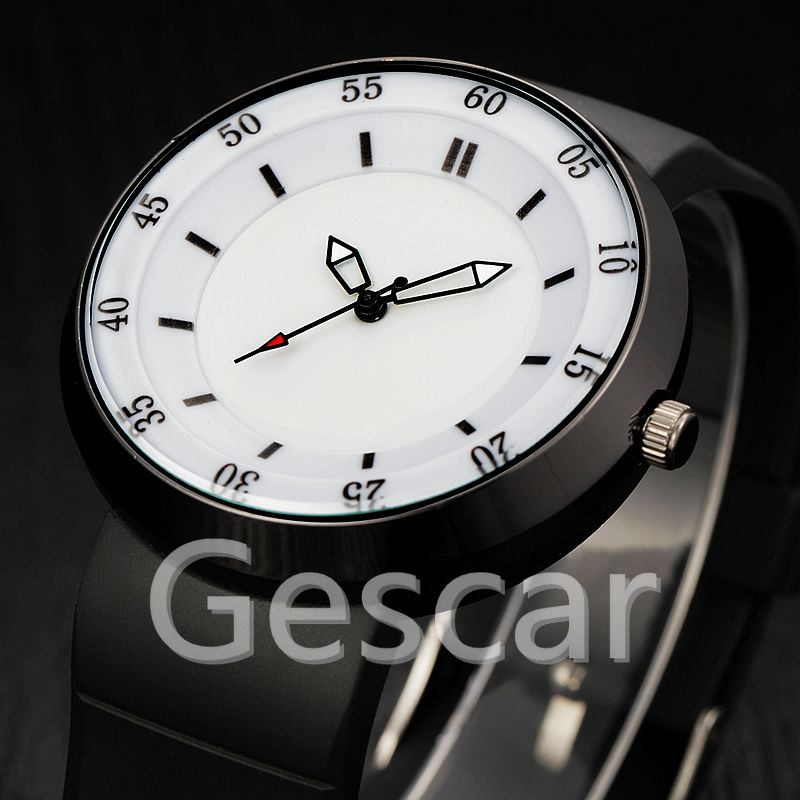 XINEW-2138 black strap high quality popular silicone watch wrap quartz military casual watch for man wholesale clock