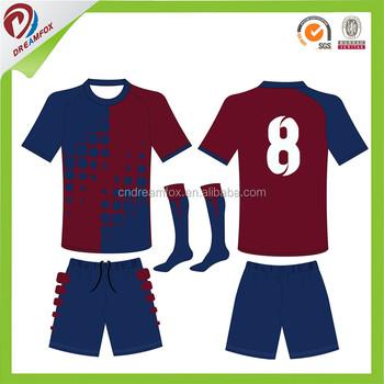 ddf95c6f529ff uniformes de futbol soccer slim fit Thailand quality stripe soccer jersey  custom soccer kits