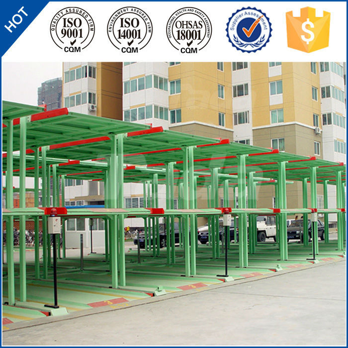 PJS Multi-level mini lifting commercial car parking lift system/vehicle parking lot solution equipment