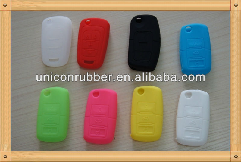 2013 newest silicone rubber car key cover