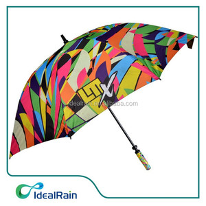 Full Color Print promotional golf umbrella