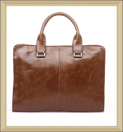 Genuine Leather Bag Men Work Bag High Fashion Brand Hand Bag ...