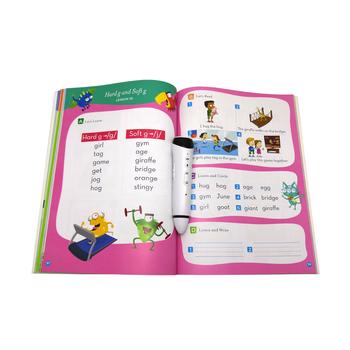 Hot Sale Native American Pronunciation Preschool Audio English Book Digital  Pen Abc Book With Talking Reading Pen - Buy Digital Pen Book,Preschool