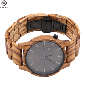 2018 Unisex Wood Wrist Watch, Wooden Quartz Trending Hot Products