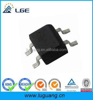 SMD 600V single phases diode rectifier bridge