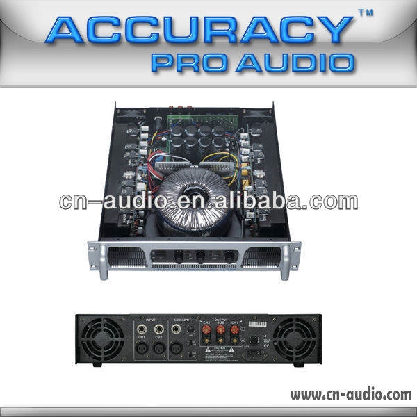 3 Channel Professional High Power Amplifier Hi-350