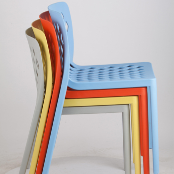 Hot Selling Stackable Leisure Dining Chair Plastic Chair