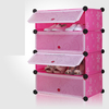 2014 popular 4 pink drawer shoe cabinet for sale FH-AW0845-4
