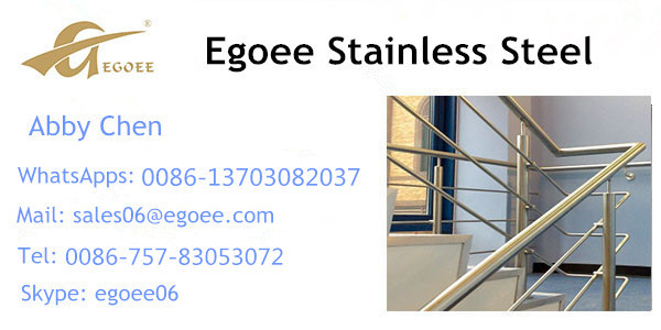 Satin/polish 316 304 Prices Of Stainless Steel Balcony Railing ...